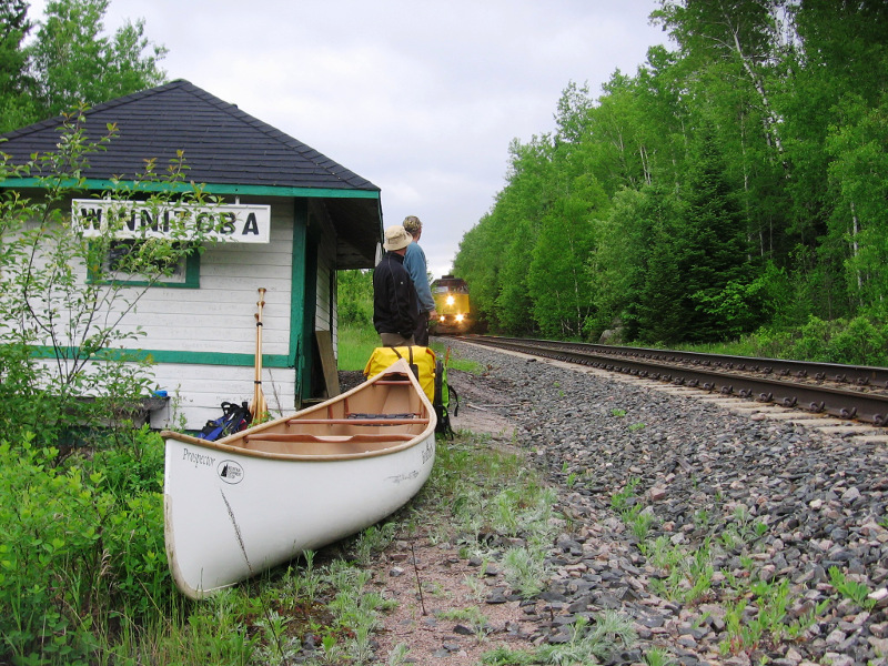Waiting at Winnitoba in 2008